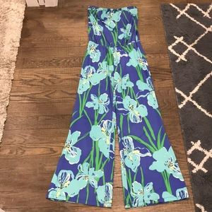 Lilly Pulitzer floral jumpsuit